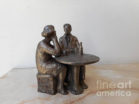 Couple on the table by Nikola Litchkov