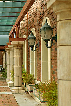 Courtyard Breeze Way by Pamela Patch