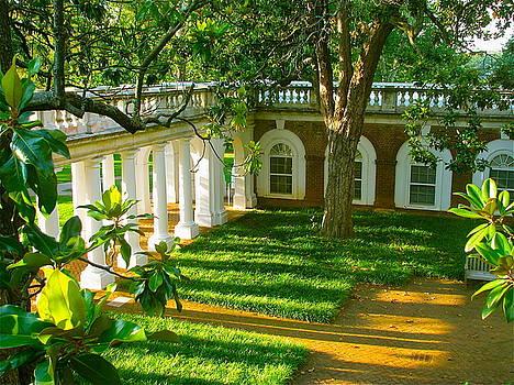Courtyard by Arthur Hofer
