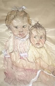 Cousins together always by Debbi Saccomanno Chan