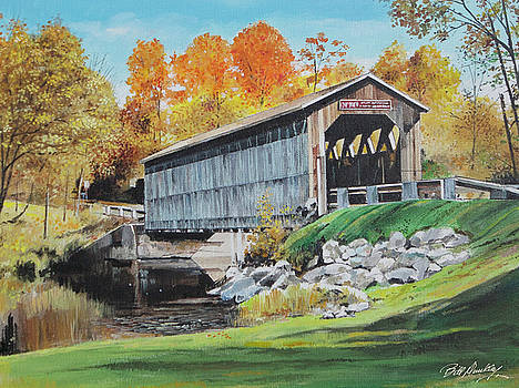 Covered Bridge by Bill Dunkley