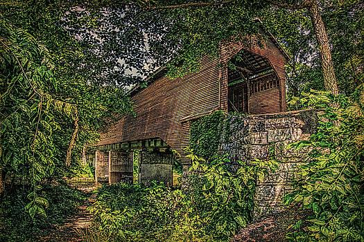 Covered Bridge by Lewis Mann