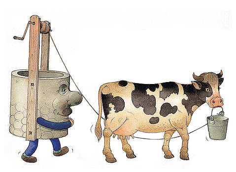 Kestutis Kasparavicius - Cow and Well02