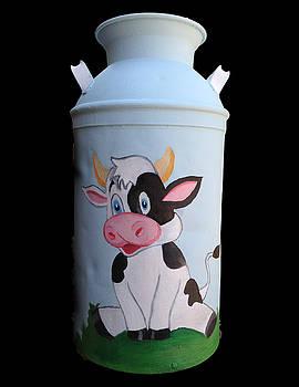 Cow by Paulina Lwowska