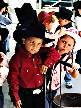 Cowboy Dance by Linda Gleason Ritchie