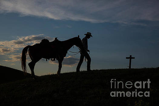Cowboy Goodbye 1 by Danny Nestor