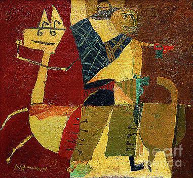 Cowboy On Horseback by Roy Lichtenstein