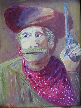 Cowboy With A Gun by Swabby Soileau