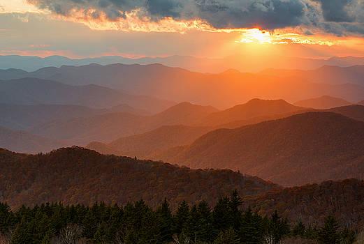 Cowee Sunset by Derek Thornton