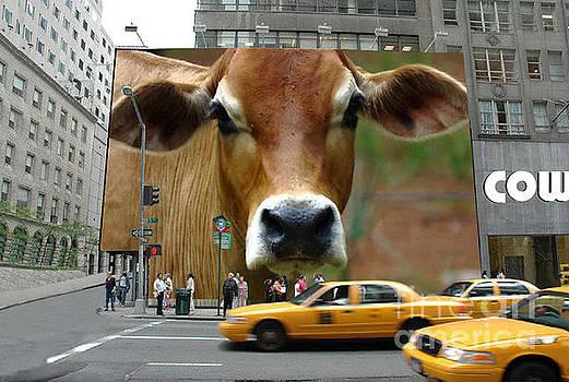CowHouse Street Art 02 by Geordie Gardiner