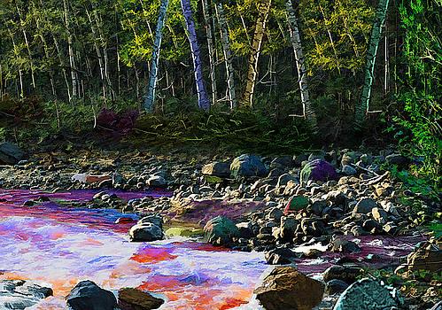 Cowiche Creek by Don Steve