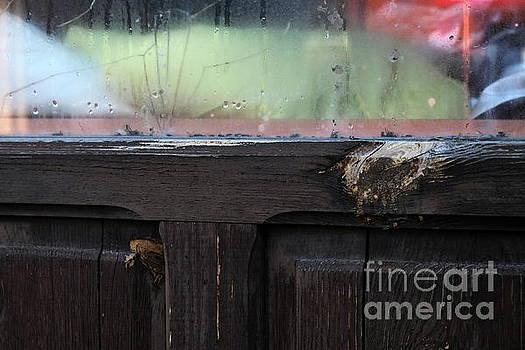 Cracked Window by Dariusz Gudowicz