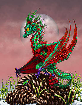 Cranberry Dragon by Stanley Morrison