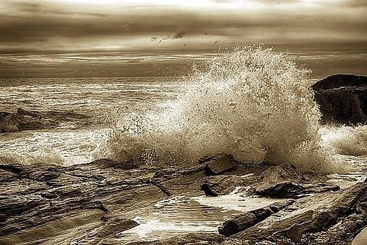 Crashing Wave HDR by Sherman Perry