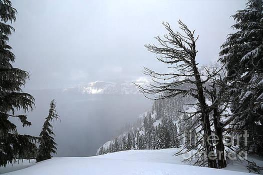 Adam Jewell - Crate Lake Winter Fog