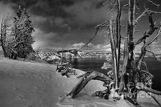 Adam Jewell - Crater Lake Harsh Winter