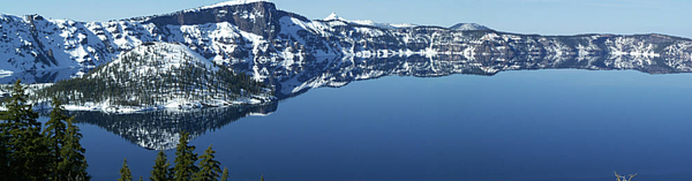 Crater Lake by Julie Bell