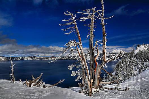 Adam Jewell - Crater Lake Winter Scene