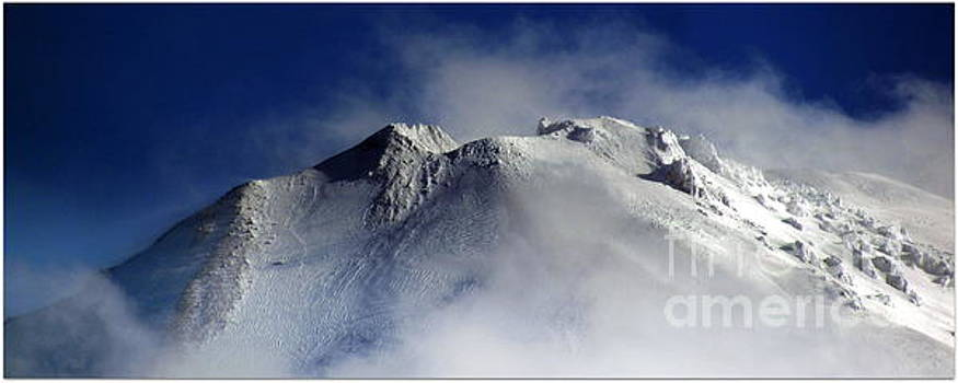 Crater of Lassen Peak by Irina Hays