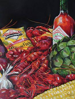 Crawfish Boil by Kristine Kainer
