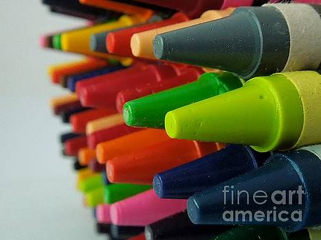 Crayons by Chad and Stacey Hall