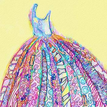 Crazy Color Dress by Andrea Auletta