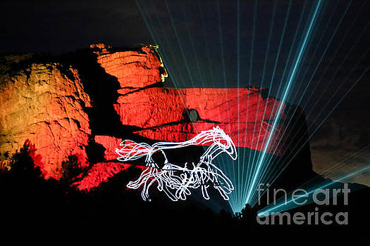 Crazy Horse Monument by Lynn Sprowl