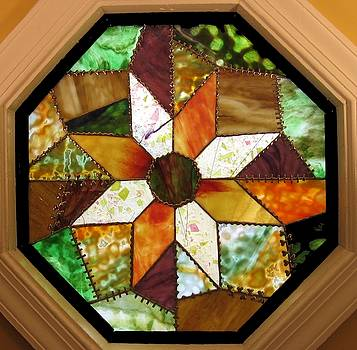 Crazy Quilt - Autumn by Howard Mendelson