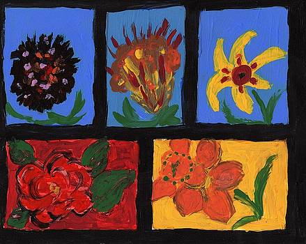 Creative Flowers 2 by Rosemary Mazzulla