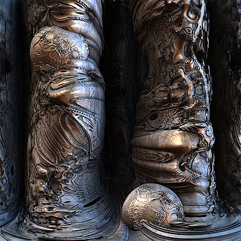 Creepy Columns by Hal Tenny