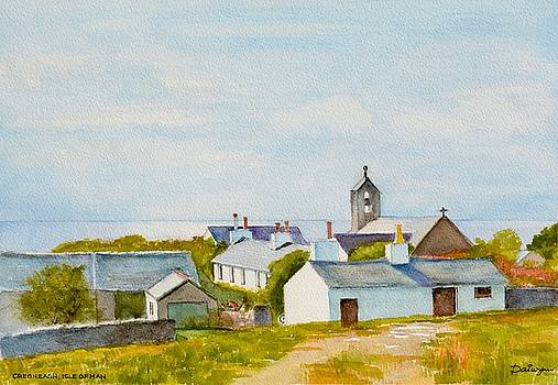 Cregneash and St Peters Church by Dai Wynn
