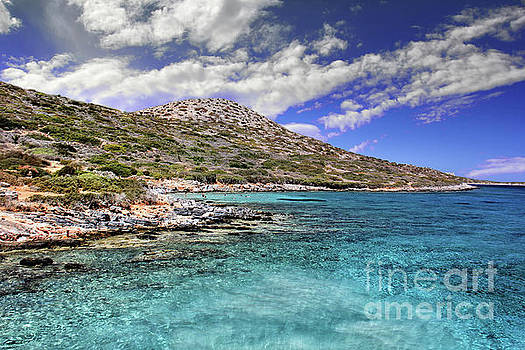 Cretan Paradise by Mariola Bitner