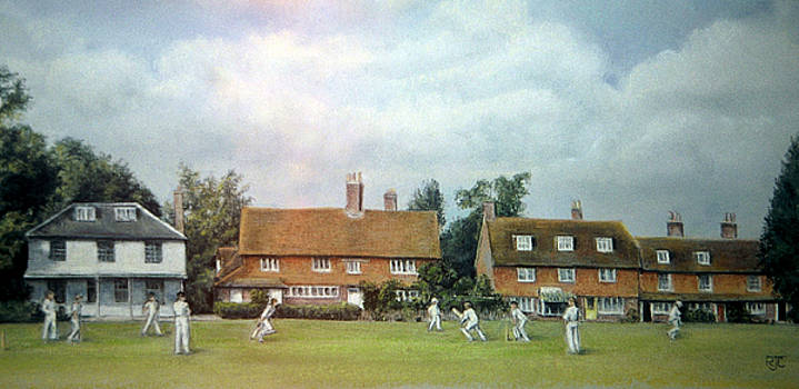 Cricket On The Green by Rosemary Colyer