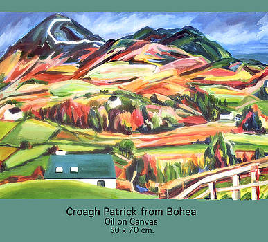 Croagh Patrick by Ellen Lefrak