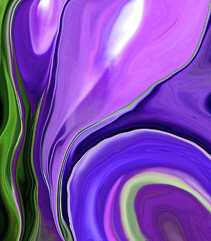 Crocus Abstract15 by Linnea Tober