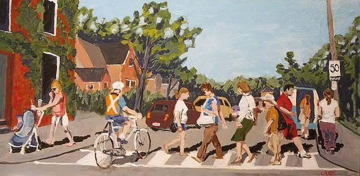 Crossing Charlton by Fred Urron