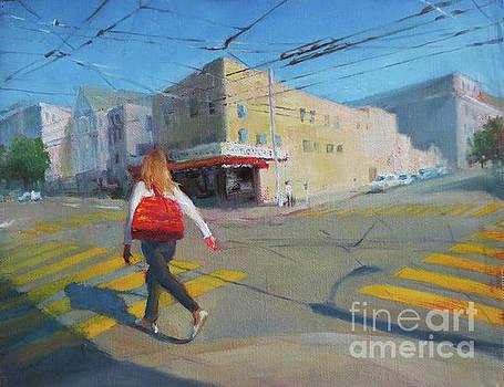 Crossing, San Francisco by Ni Zhu