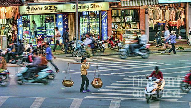 Chuck Kuhn - Crossing street Vietnam