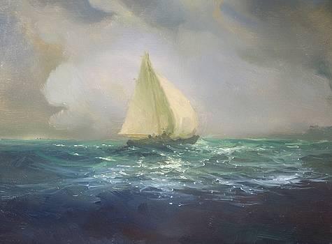 Crossing the Black Sea by Michael Chesnakov