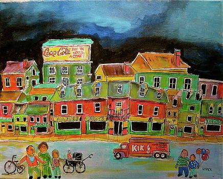 Crossing the Street by Michael Litvack