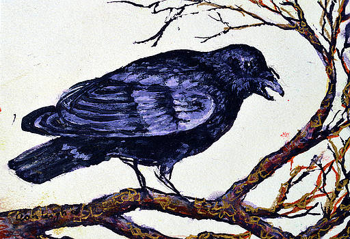 Crow watching over you by Ashleigh Dyan Bayer