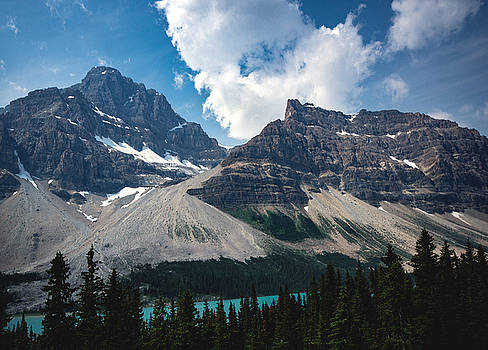 Crowfoot Mountain by Cale Best
