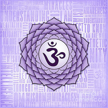 Crown Chakra - Awareness by David Weingaertner
