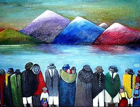 Crowned Lake by Patricia Velasquez de Mera