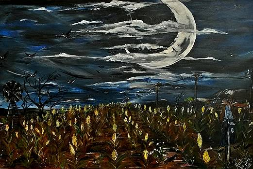 Crows Field by Nicole Champion