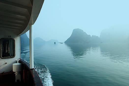 Chuck Kuhn - Cruising Ha Long Bay