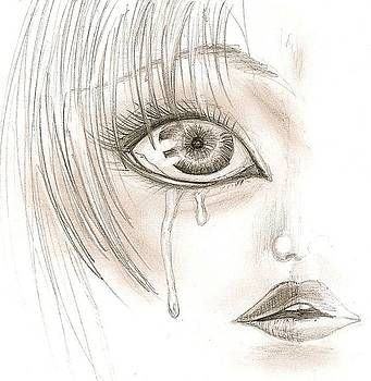 Crying Eye by Darryl Redfern