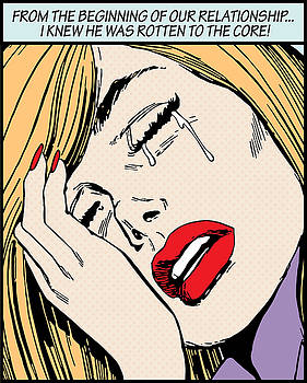 Crying Woman by Gary Grayson