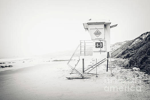 Paul Velgos - Crystal Cove Lifeguard Tower 11 in Laguna Beach