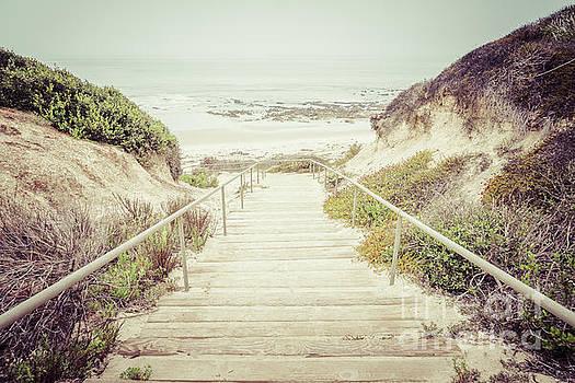 Paul Velgos - Crystal Cove Stairs in Laguna Beach California
